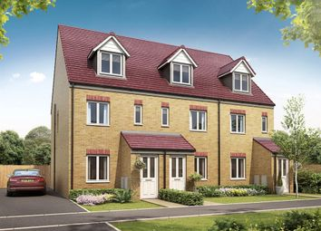 "Thumbnail 3 bedroom terraced house for sale in ""The Souter"" at Skipping Block Row, Wymondham"