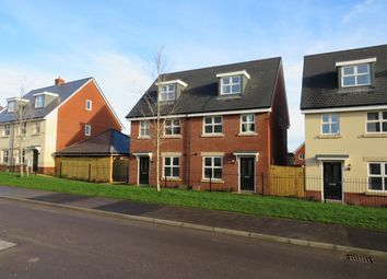 Thumbnail 3 bed semi-detached house to rent in Mustard Way, East Anton, Andover