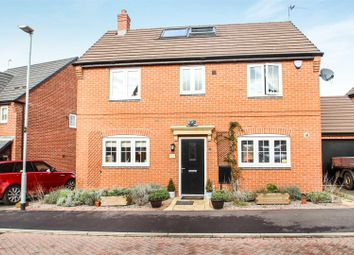 Thumbnail 4 bed detached house for sale in Farmers Way, Rothley, Leicester