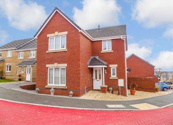 Thumbnail 4 bed detached house for sale in Clos Yr Eryr, Coity, Bridgend.
