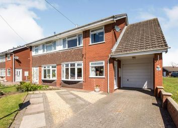 Thumbnail 4 bed semi-detached house for sale in Gowy Close, Sandbach, Cheshire