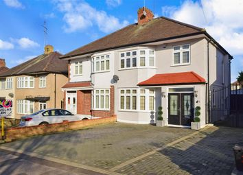 Thumbnail 3 bed semi-detached house for sale in Chadacre Avenue, Ilford, Essex