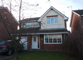Thumbnail 4 bed detached house for sale in Allchurch Drive, Ashington