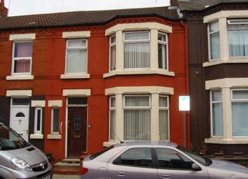 Thumbnail 3 bed terraced house to rent in Armley Road, Liverpool