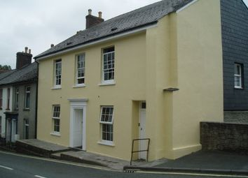 Thumbnail 1 bed flat to rent in Pound Street, Liskeard, Cornwall
