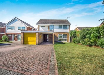 Thumbnail 4 bedroom detached house for sale in Valley Road, Lillington, Leamington Spa