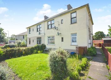 Thumbnail 2 bed flat for sale in Carlops Crescent, Penicuik