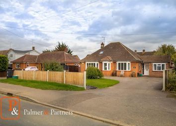 Thumbnail 4 bed detached bungalow for sale in Church Road, Elmstead Market, Colchester