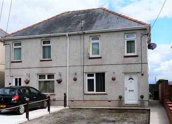 Thumbnail 3 bed semi-detached house for sale in Kew Gardens, Tumble, Llanelli