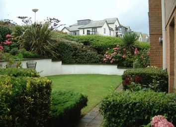 Thumbnail 1 bed flat for sale in Penhaven Court, Newquay