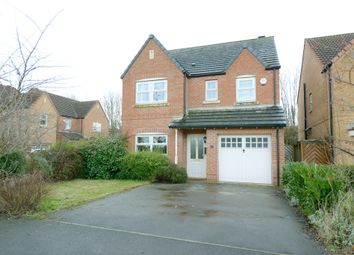 Thumbnail 4 bed detached house to rent in Bluebell Walk, Creswell, Worksop