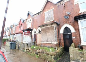 Thumbnail 3 bed terraced house for sale in Leyton Road, Handsworth