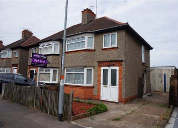Thumbnail 3 bed semi-detached house for sale in Bushland Road, Northampton