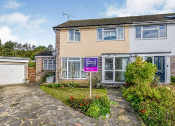 Thumbnail 3 bed semi-detached house for sale in Oak Tree Close, Woking