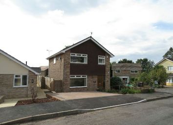 Thumbnail 4 bed detached house for sale in Brimridge Road, Winscombe