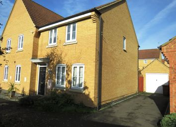 3 bed semi-detached house for sale in Lyvelly Gardens, Peterborough PE1