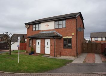 Thumbnail 2 bed semi-detached house for sale in Cawder Place, Cumbernauld