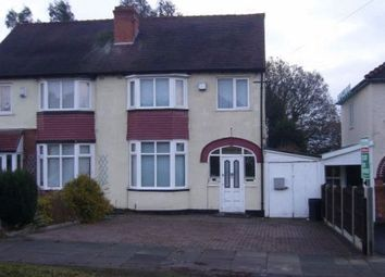 Thumbnail 3 bed semi-detached house to rent in Tennal Lane, Quinton, Birmingham