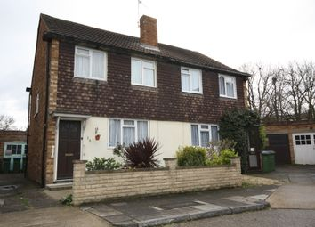 Thumbnail 2 bed semi-detached house for sale in Reed Close, London
