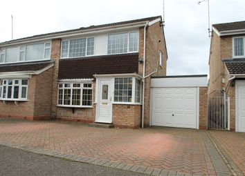 Thumbnail 3 bedroom semi-detached house for sale in Ledbury Close, Redditch