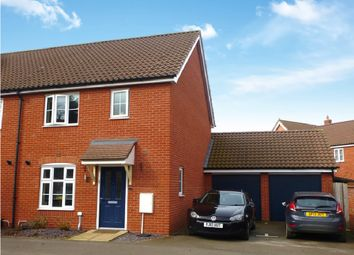 Thumbnail 3 bed semi-detached house for sale in Spearmint Way, Red Lodge, Bury St. Edmunds
