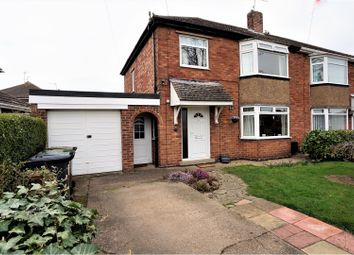 Thumbnail 3 bed semi-detached house for sale in Grange Crescent, Lincoln