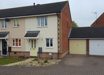 Thumbnail 2 bedroom end terrace house to rent in Gatekeeper Close, Pinewood, Ipswich