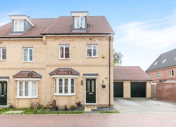 Thumbnail 4 bedroom semi-detached house to rent in Malkin Close, Ipswich