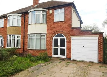 Thumbnail 4 bedroom semi-detached house for sale in Thurcaston Road, Near Abbey Lane, Leicester