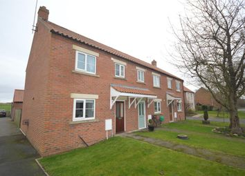Thumbnail 3 bed end terrace house for sale in Ash Court, Foxholes, Driffield