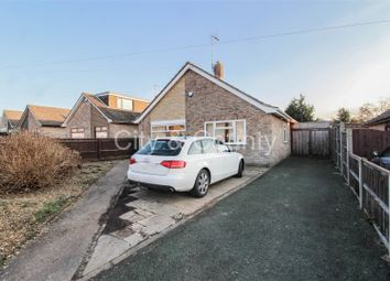 Thumbnail 3 bed detached bungalow for sale in Ennerdale Rise, Gunthorpe, Peterborough