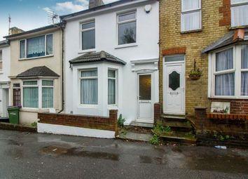 Thumbnail 2 bedroom terraced house for sale in Dover Road, Folkestone