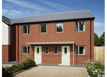 Thumbnail 2 bed terraced house for sale in The Grange, Glider Close, Christchurch, Dorset
