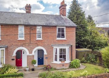 Thumbnail 3 bed semi-detached house for sale in Foxearth, Sudbury, Suffolk