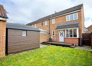 Thumbnail 1 bed terraced house for sale in Begwary Close, Eaton Socon, St. Neots, Cambridgeshire