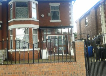 Thumbnail 4 bedroom shared accommodation to rent in Upper Chorlton Road, Whalley Range, Manchester