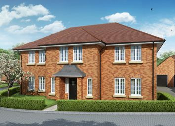 "Thumbnail 5 bed detached house for sale in ""The Windsor"" at Grange Road, Chalfont St. Peter, Gerrards Cross"