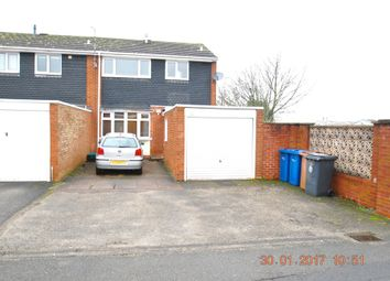 Thumbnail 3 bed semi-detached house to rent in Eastern Avenue, Lichfield