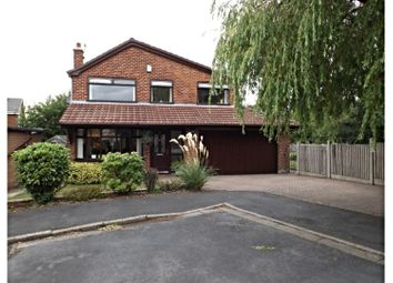 Thumbnail 4 bed detached house for sale in Exmoor Close, Manchester