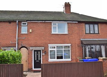 Thumbnail 3 bed town house for sale in Russell Road, Sandyford, Stoke-On-Trent