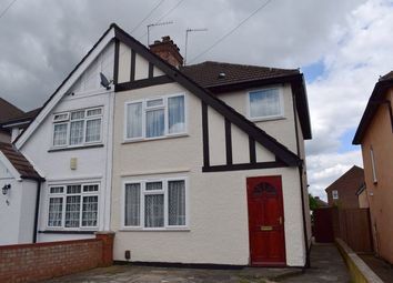 Thumbnail 3 bedroom semi-detached house to rent in Clewer Crescent, Harrow Weald