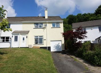 Thumbnail 4 bed semi-detached house for sale in Coles Mill Close, Holsworthy