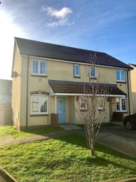 Thumbnail 3 bed semi-detached house for sale in Wentworth Close, Hubberston, Milford Haven