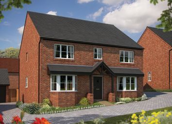 "Thumbnail 5 bed detached house for sale in ""The Winchester"" at Irthlingborough Road, Wellingborough"