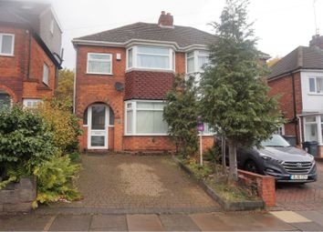 Thumbnail 3 bed semi-detached house for sale in Sandringham Road, Birmingham