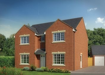"Thumbnail 4 bed detached house for sale in ""The Lavernock"" at Station Road, Church Village, Pontypridd"