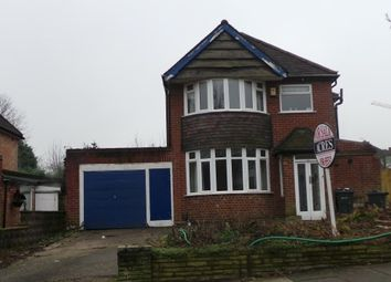 Thumbnail 3 bed detached house for sale in Berwood Farm Road, Wylde Green, Sutton Coldfield