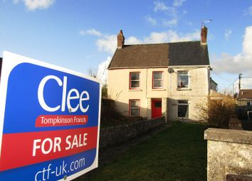 Thumbnail 2 bed semi-detached house for sale in High Street, Abergwili, Carmarthen, Carmarthenshire.