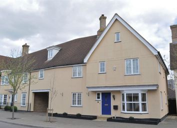 Thumbnail 4 bed end terrace house for sale in Louvain Drive, Beaulieu Park, Chelmsford, Essex