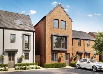 "Thumbnail 3 bed end terrace house for sale in ""The Greyfriars v2"" at Ffordd Penrhyn, Barry"
